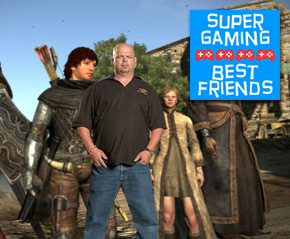 Get Your Dudes at the Pawn Shop – Super Gaming Best Friends #111