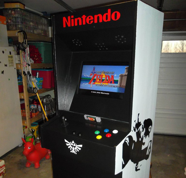 Hey! Look! SNES Arcade Cabinet
