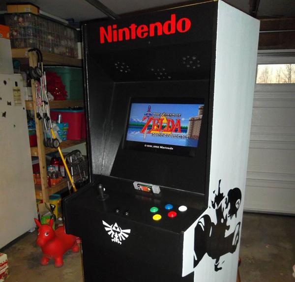 Hey! Look! SNES Arcade Cabinet