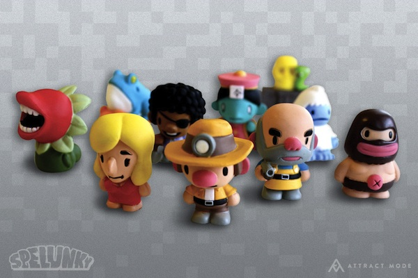 Hey! Buy! Spelunky Figurines