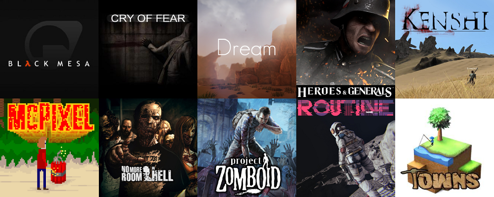 The First Approved Games for Steam Greenlight