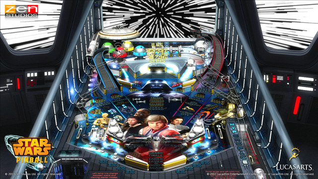 Zen Studios Brings Star Wars Pinball to Pretty Much Everything Starting Feb 26th