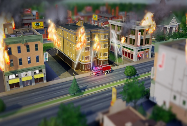 SimCity Only Looks Better During a Disaster