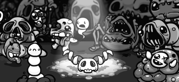 The Binding of Isaac: Wrath of the Lamb Game Curious Video: Spiders Everywhere
