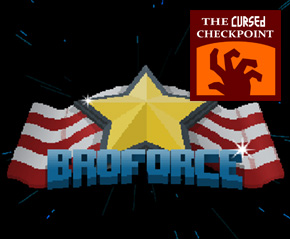 Broforce Interview with Evan Greenwood – The Cursed Checkpoint #126