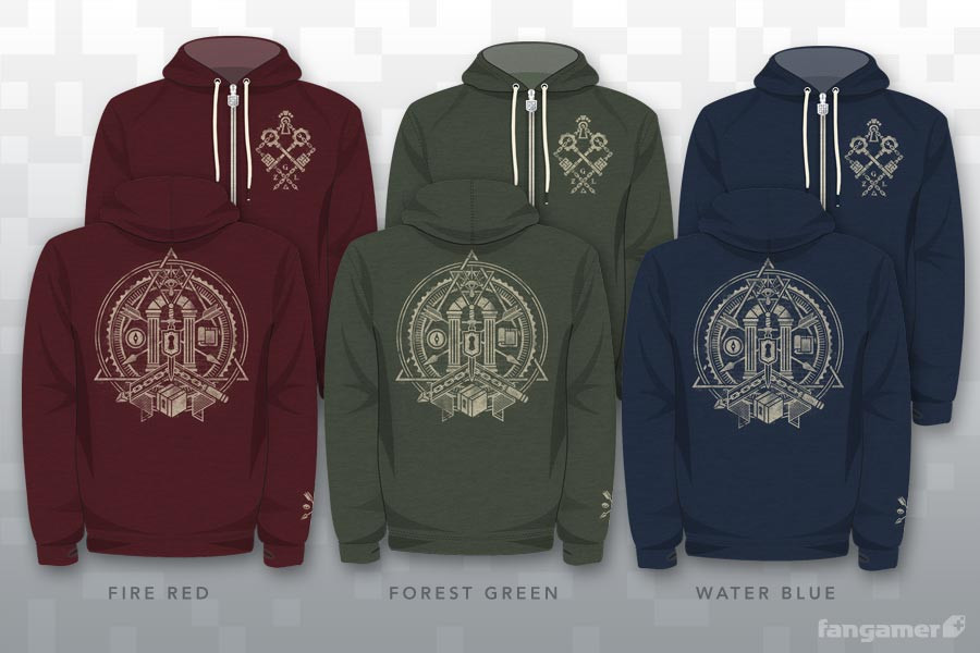 Hey! Wear! The Legend of Zelda Temple Hoodie Collection