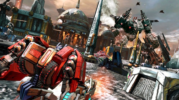 Transformers: Fall of Cybertron Demo Game Curious Video: Robogasm