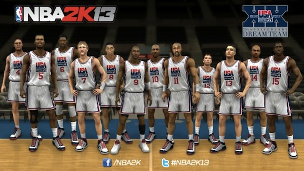 The Dream Team Adds Scottie Pippen to Complete Its Roster for NBA 2K13