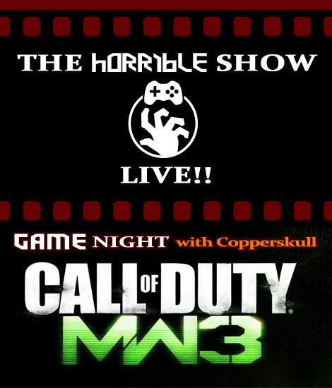 Horrible and Live, Twice Tonight – The Horrible Show and Modern Warfare 3