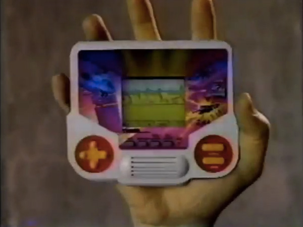 Hey! Watch! Tiger Electronics Video Game Commercial