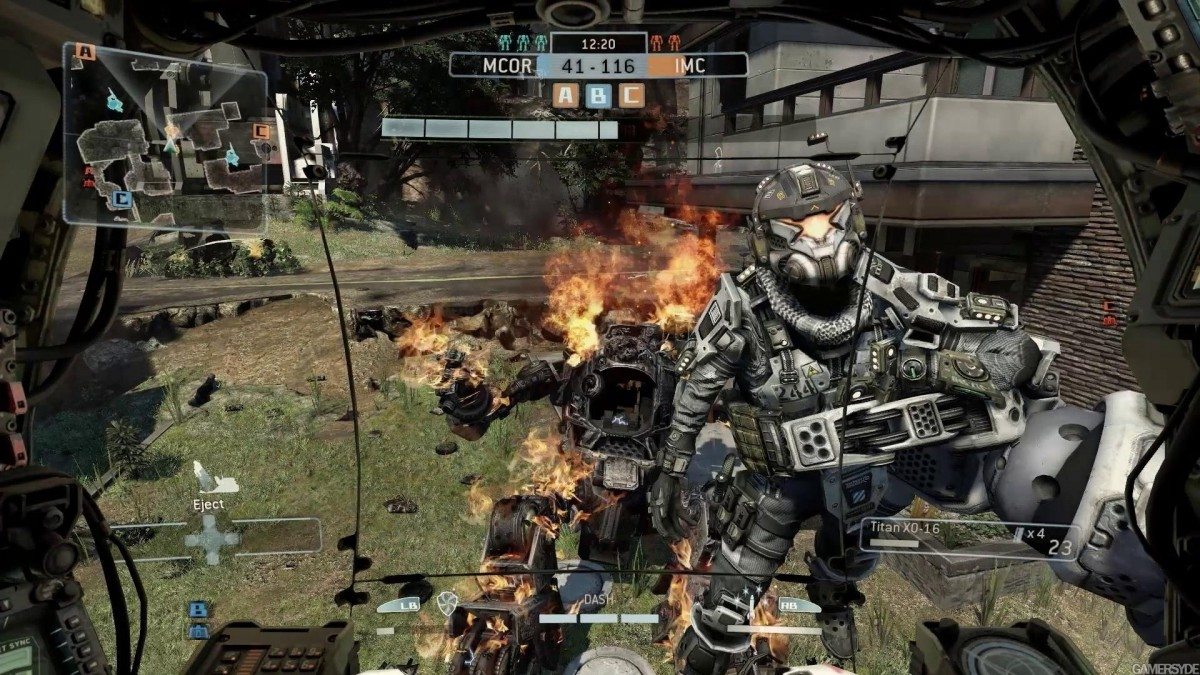 Played Titanfall – Damned Kids, Get Off My Titan