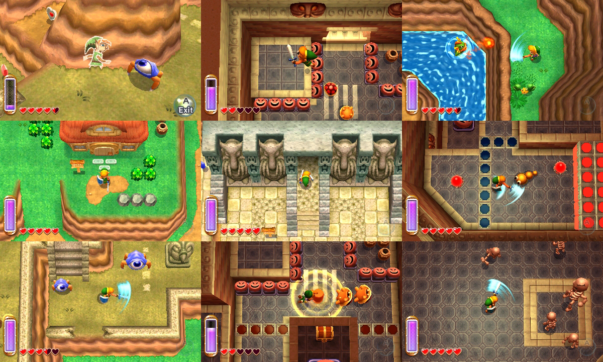 Played The Legend of Zelda: A Link Between Worlds – To The Past