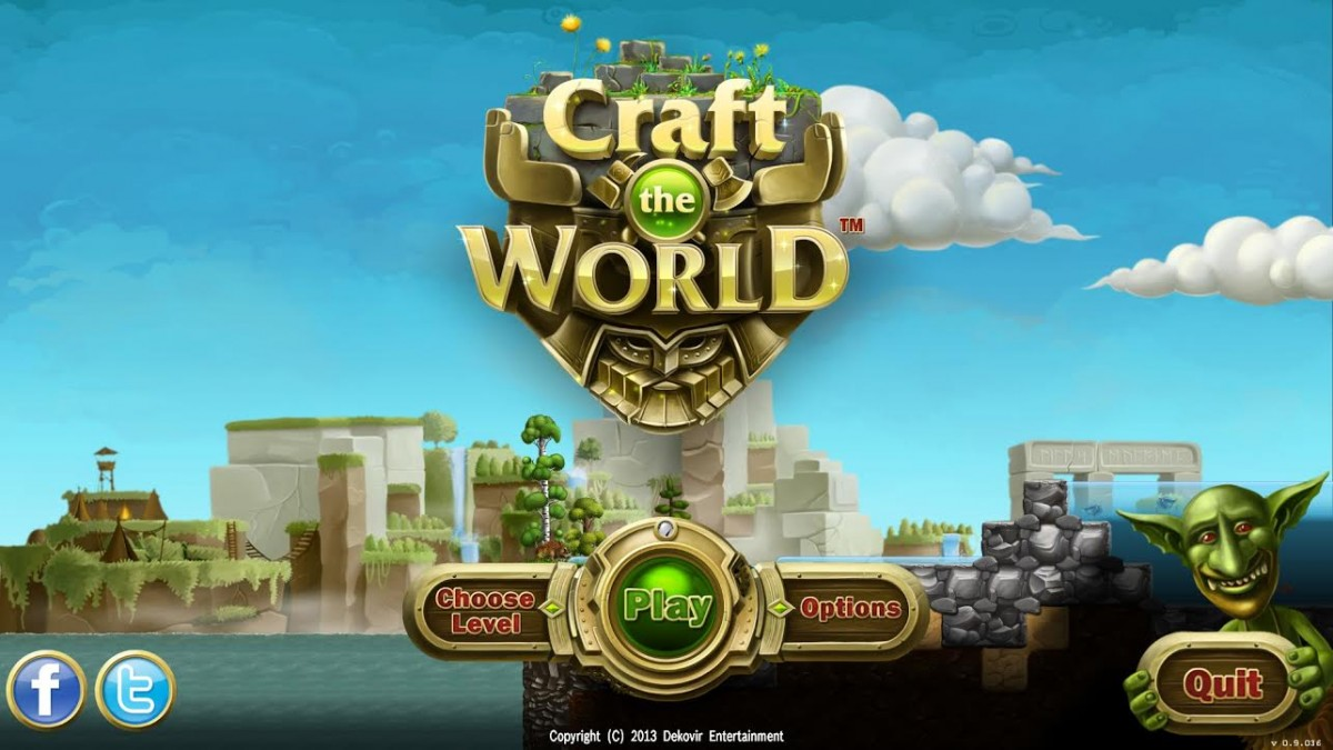 Played Craft The World – Dwarven Greed