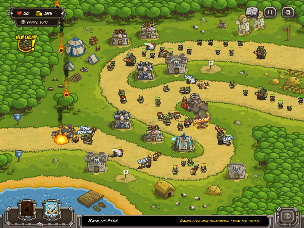 Played Kingdom Rush – Like Me!