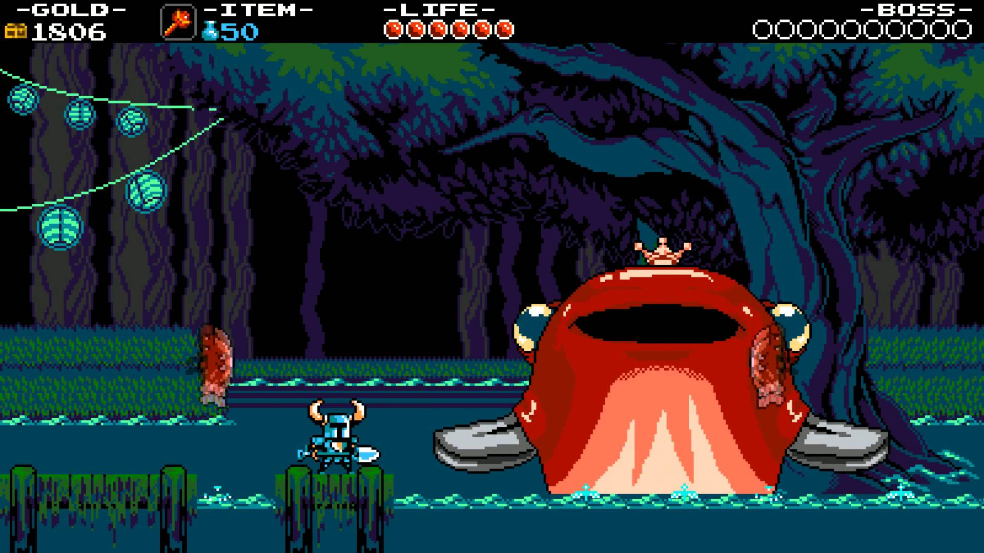 Played Shovel Knight – Buried Treasure
