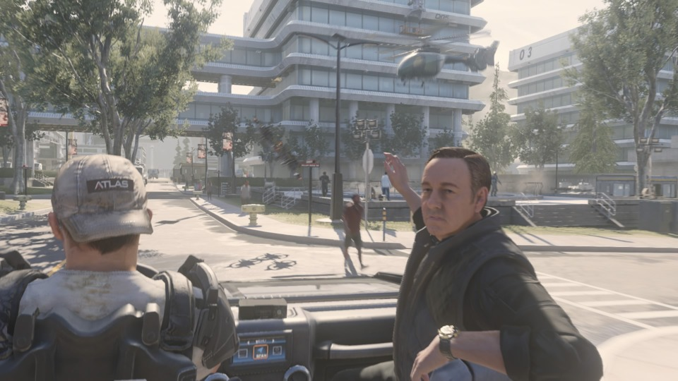 Played Call of Duty: Advanced Warfare – With My Eyes Opened