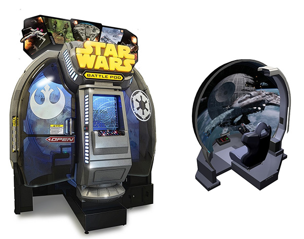 Hey! Play! Star Wars: Battle Pod in Arcades