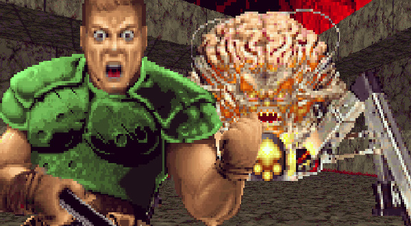 Hey! Play! Take a Selfie in Doom