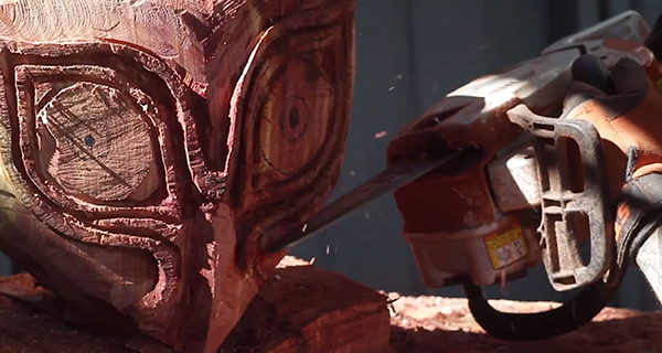 Hey! Watch! A Chainsaw Make Majora's Mask
