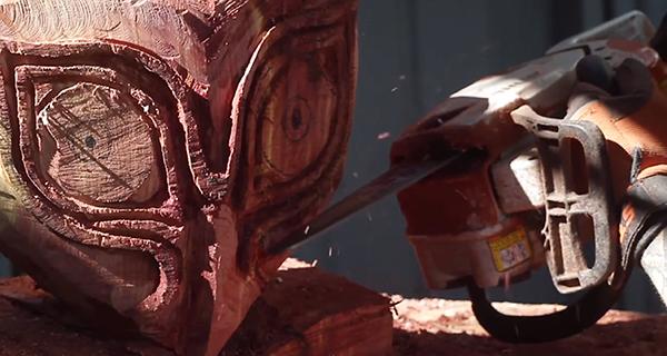 Hey! Watch! A Chainsaw Make Majora's Mask