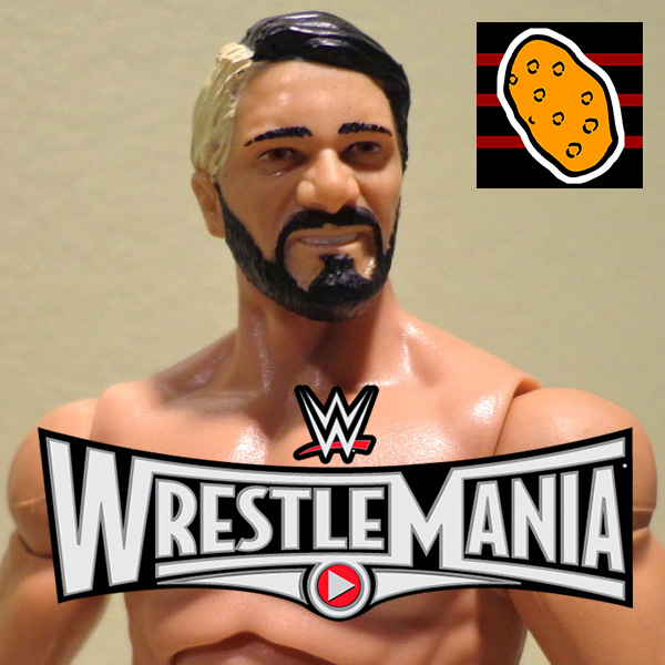 Potato Bumps #102 – Wrestlemania Play Button