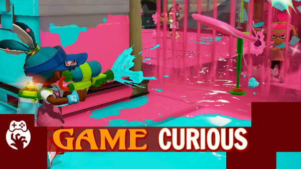 Game Curious Splatoon – You've Got Ink On You